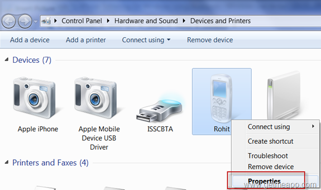 Step By Step Guide To iPhone Tethering On Windows 7 And Windows